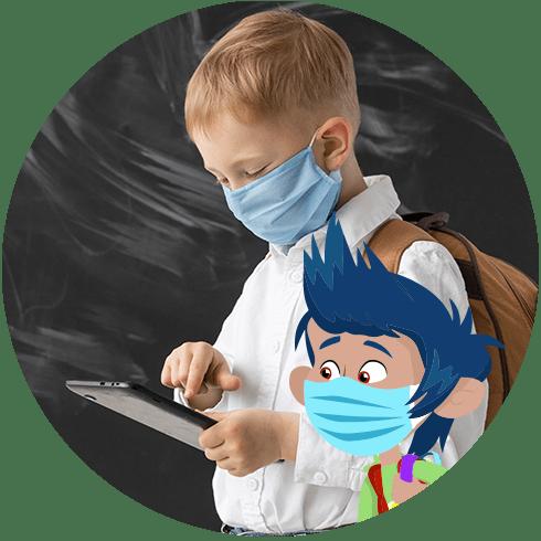 Creciendo en prevención. Covid-19